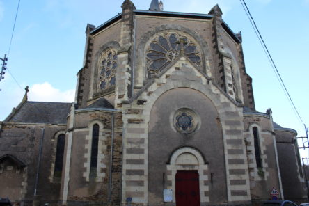 Eglise Saint Didier à Brain-sur-Longuenée