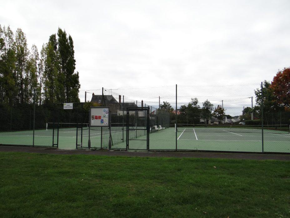 Terrain de tennis Vern d'Anjou